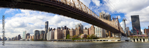 Papier Peint - NYC Queensboro Bridge and Manhattan panorama