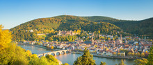Papier Peint - Panoramic view of beautiful Heidelberg, Germany