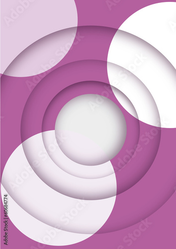 Papier Peint - Vector abstract futuristic background